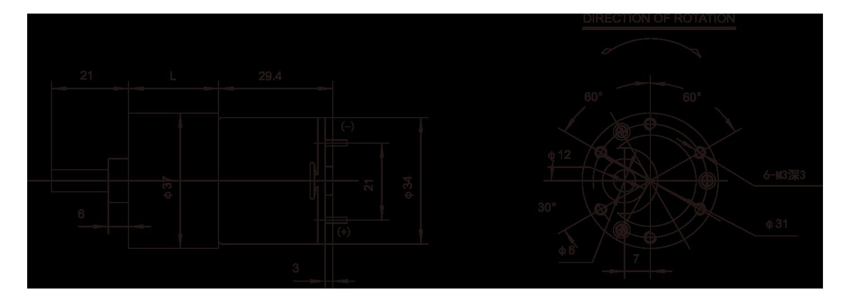齿轮箱电动_37JPG3429_Outline绘图