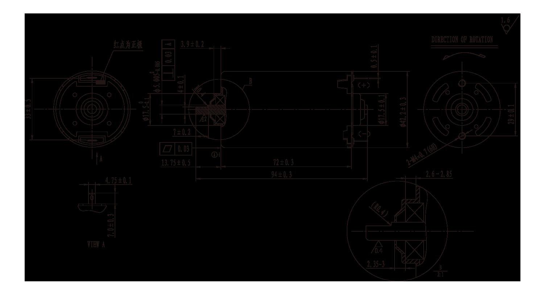 DC-Motor_RS-785SH_Outline绘图