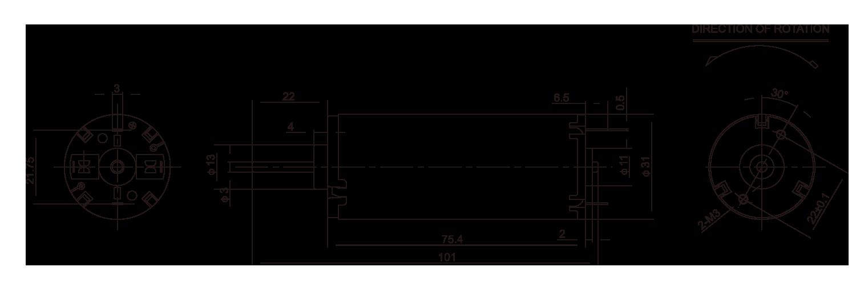 DC-Motor_RH-497_Outline绘图